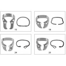 Fit® Rubberdam Clamps Molar clamps wingless