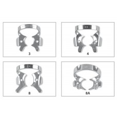 Fit® Rubberdam Clamps Molar clamps with wings (for deep gripping)