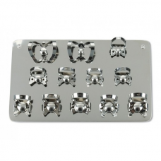 Fit® Rubberdam Clamp Board (for clamps)